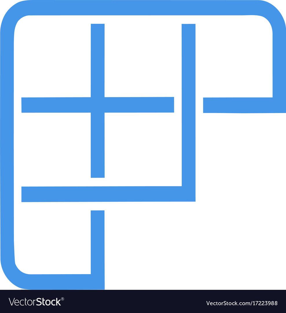 Fast sport letter f logo icon design template vector image maxwellsz