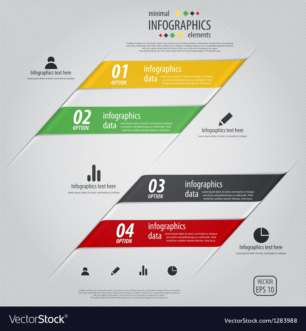 Infographics design 2 vector image