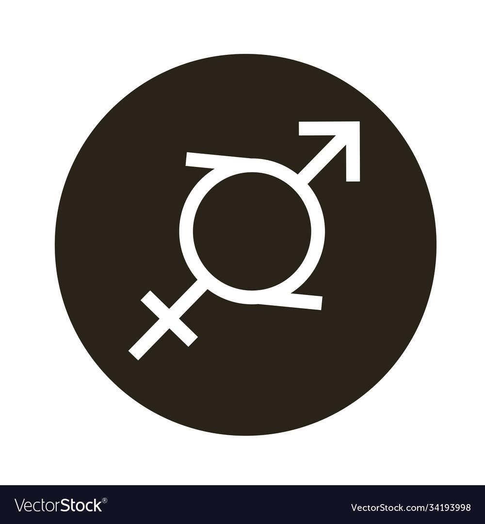 Heterosexual gender symbol sexual orientation