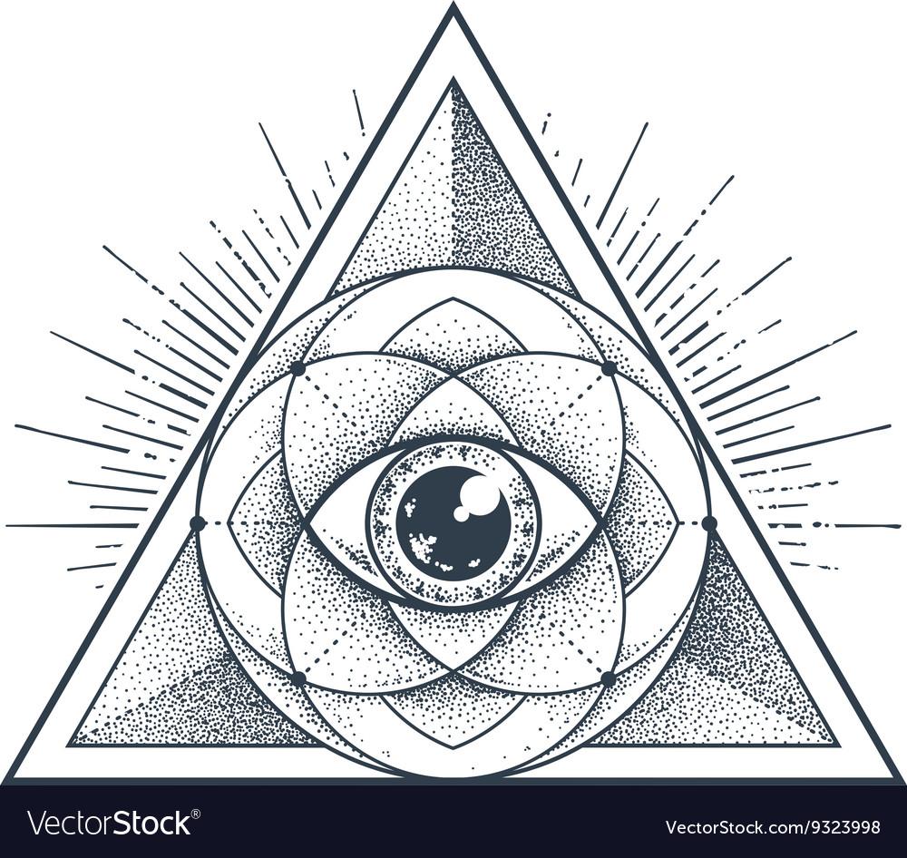 sacred geometry royalty free vector image vectorstock