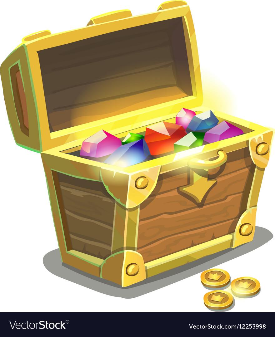 Treasure chest full of jewels