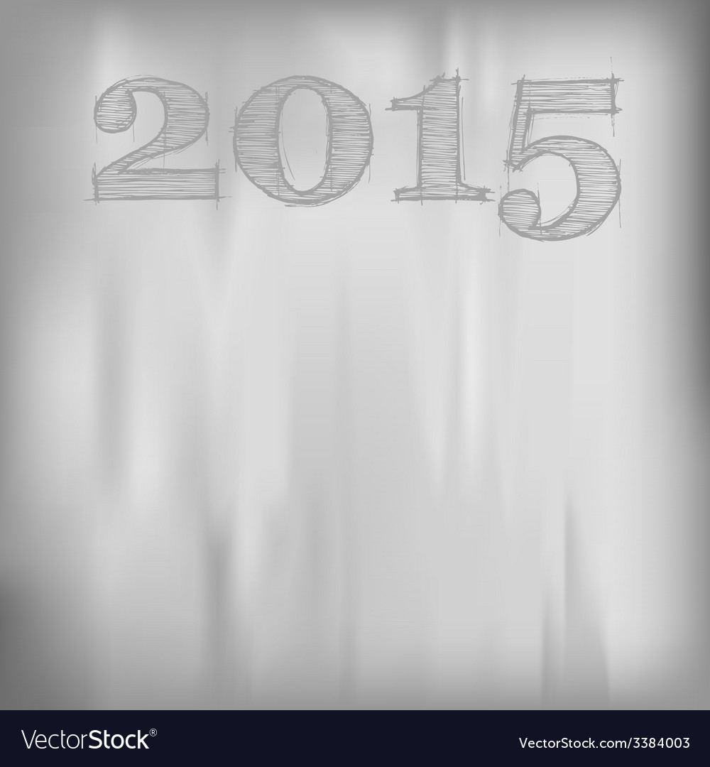 2015 Gray Background vector image