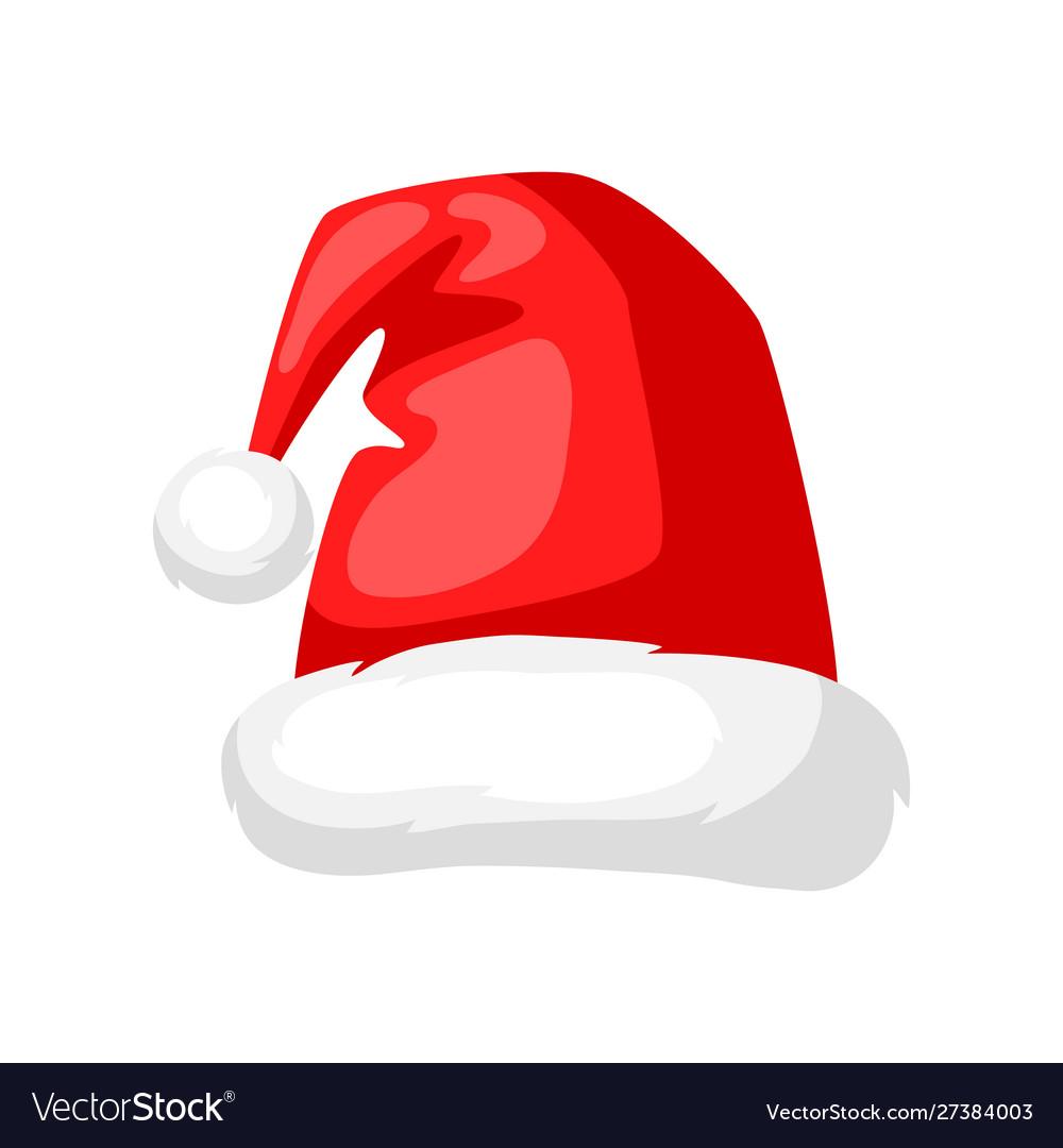 Merry christmas hat santa claus