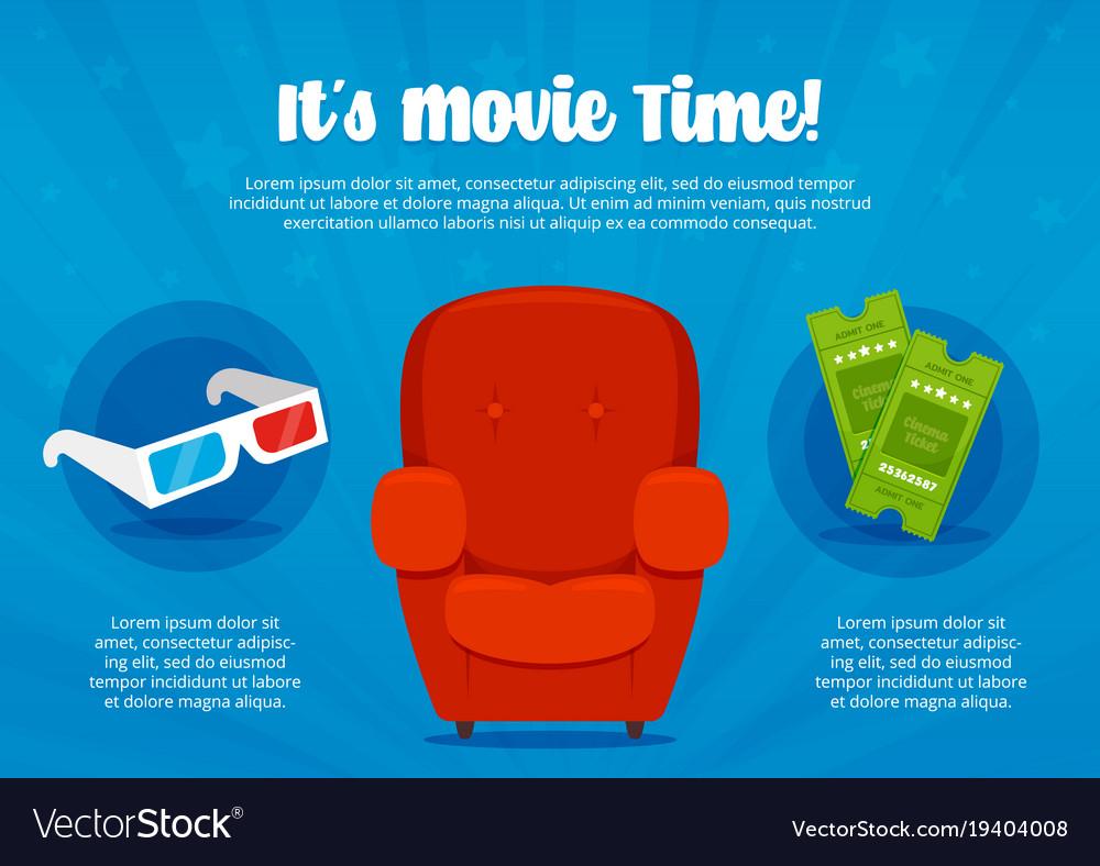 Cinema time flyer