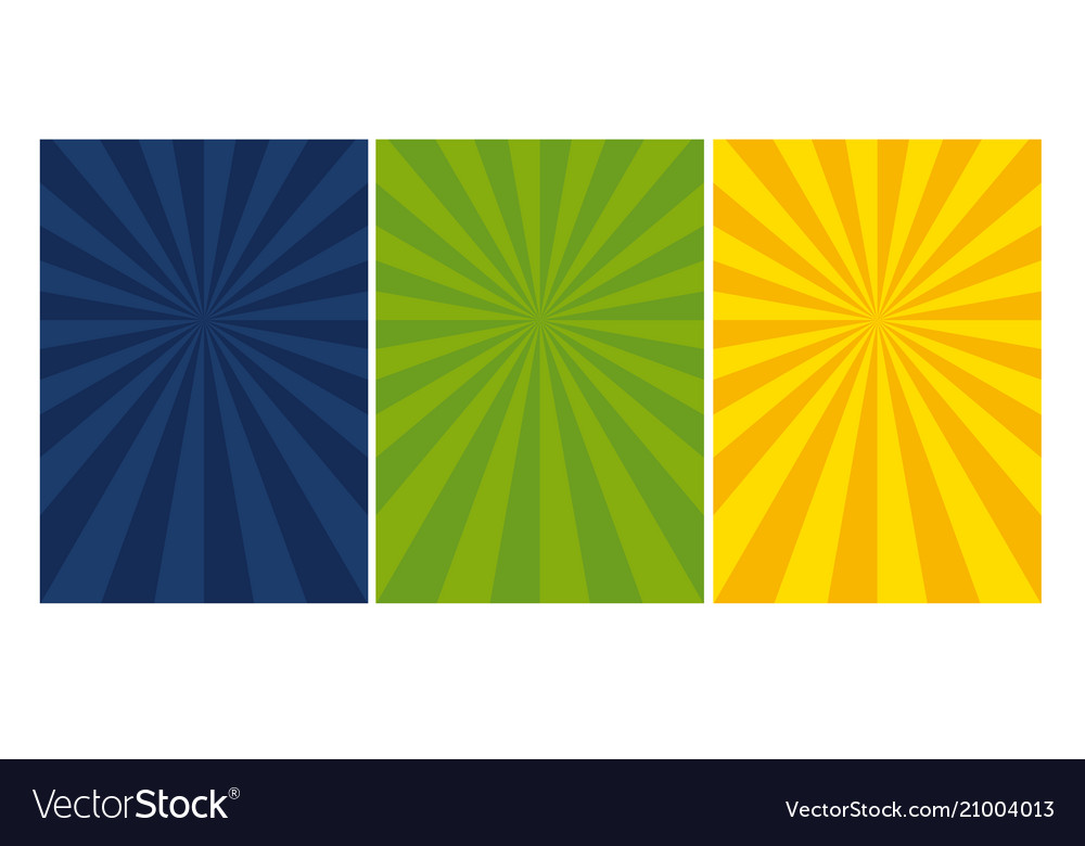 Abstract sunny dynamic cover template