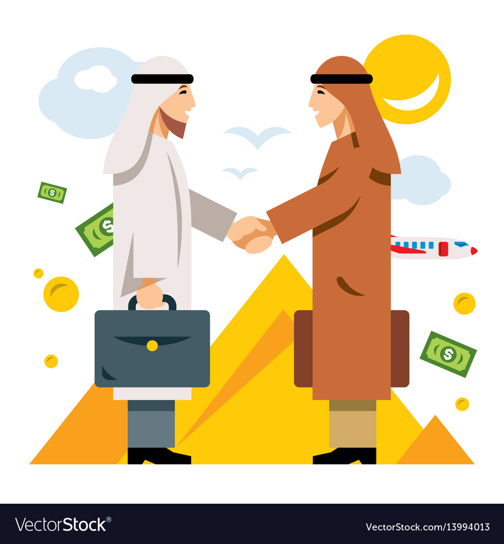 Deal partnership agreement middle east