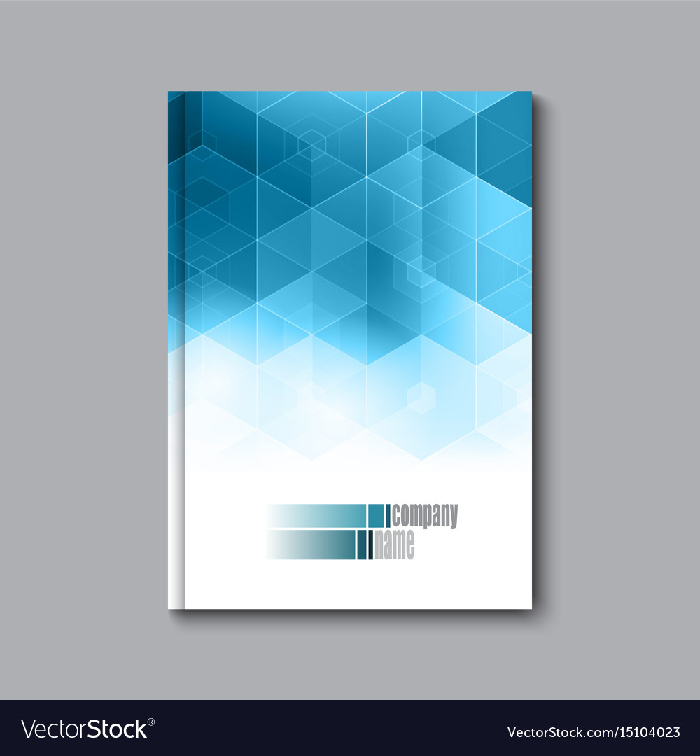 Business design template cover brochure book