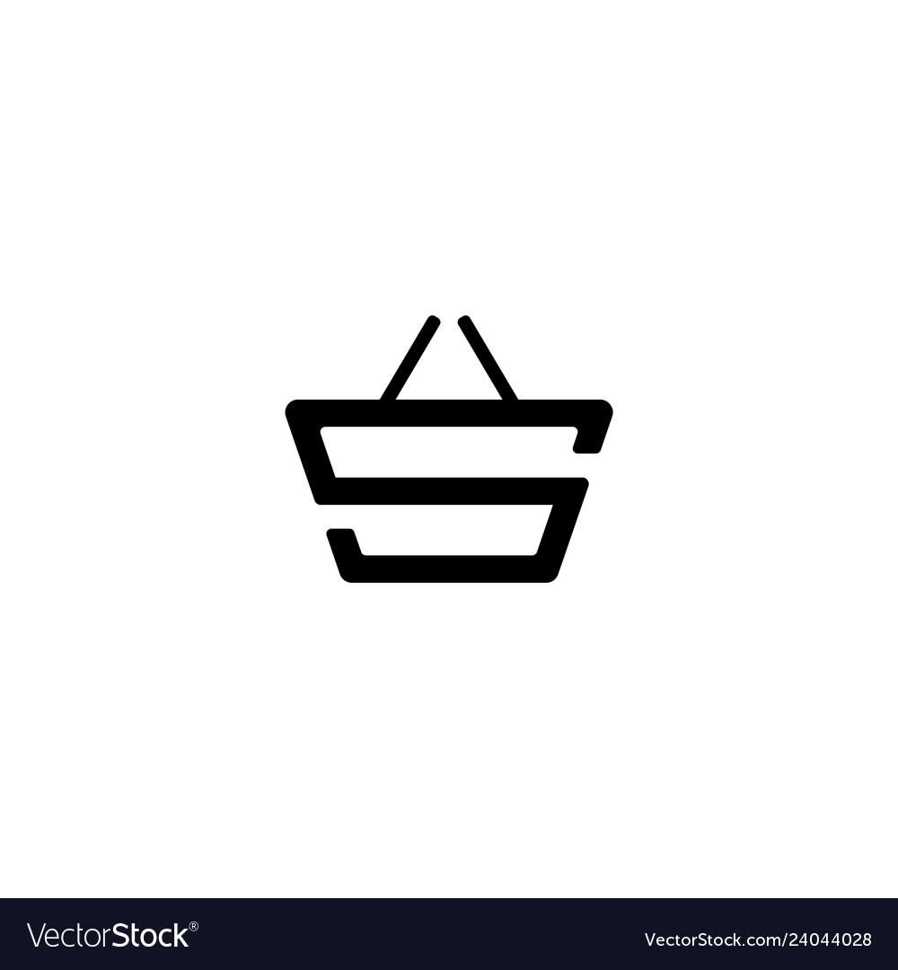 S initial logo