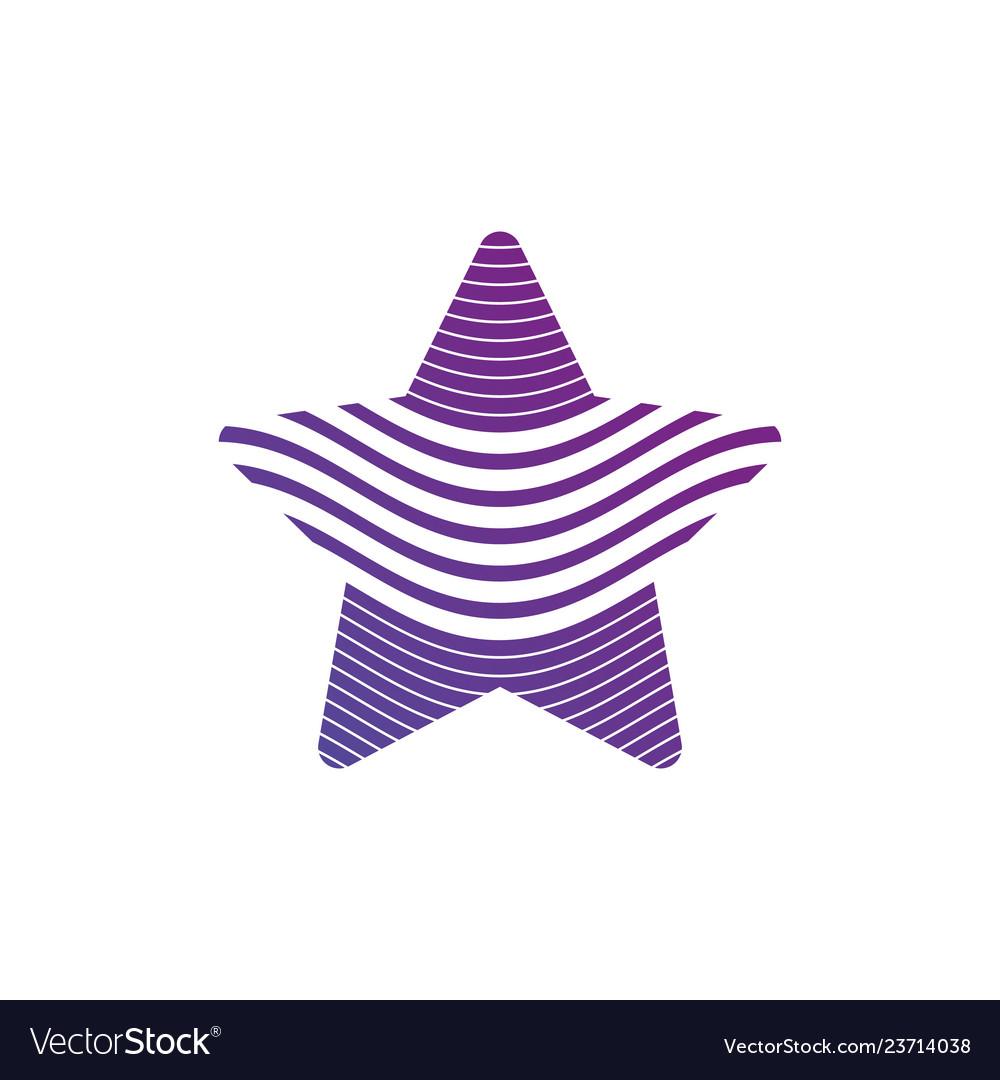 Star logo minimal abstract symbol geometrical