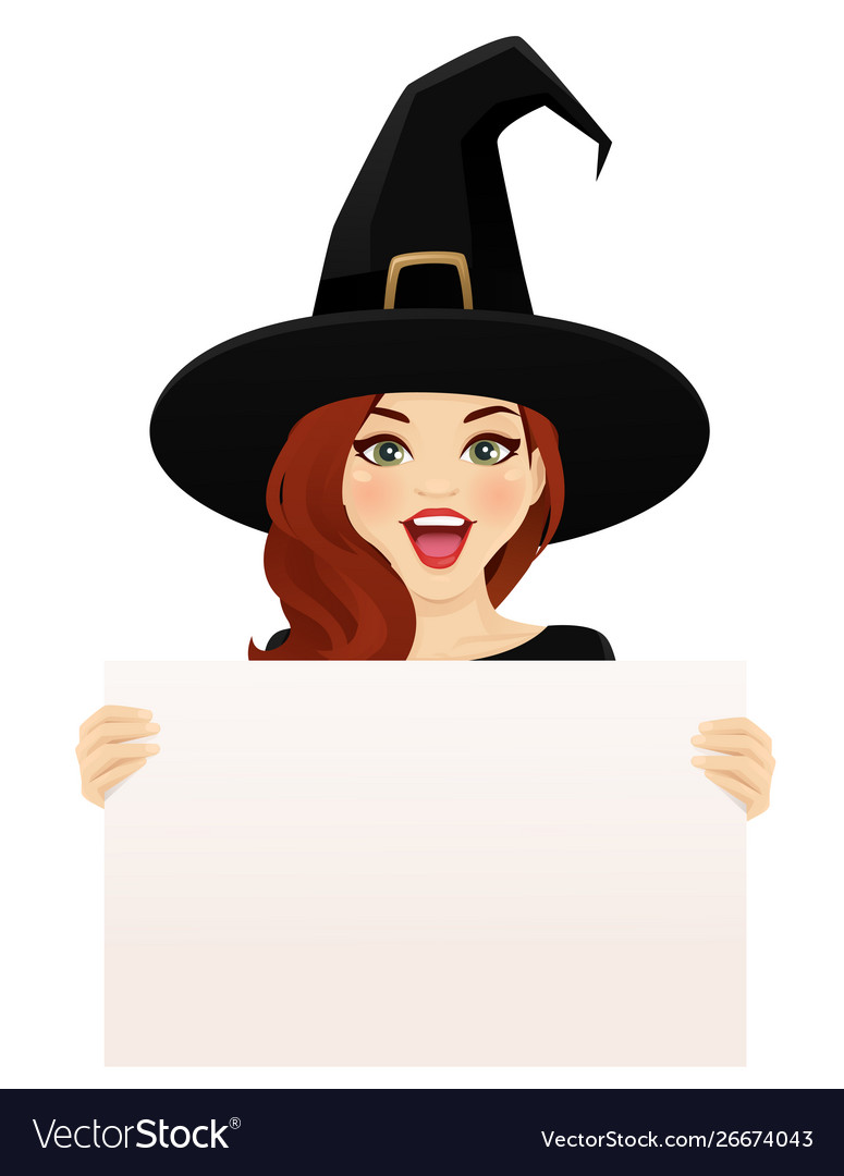 Surprised halloween woman