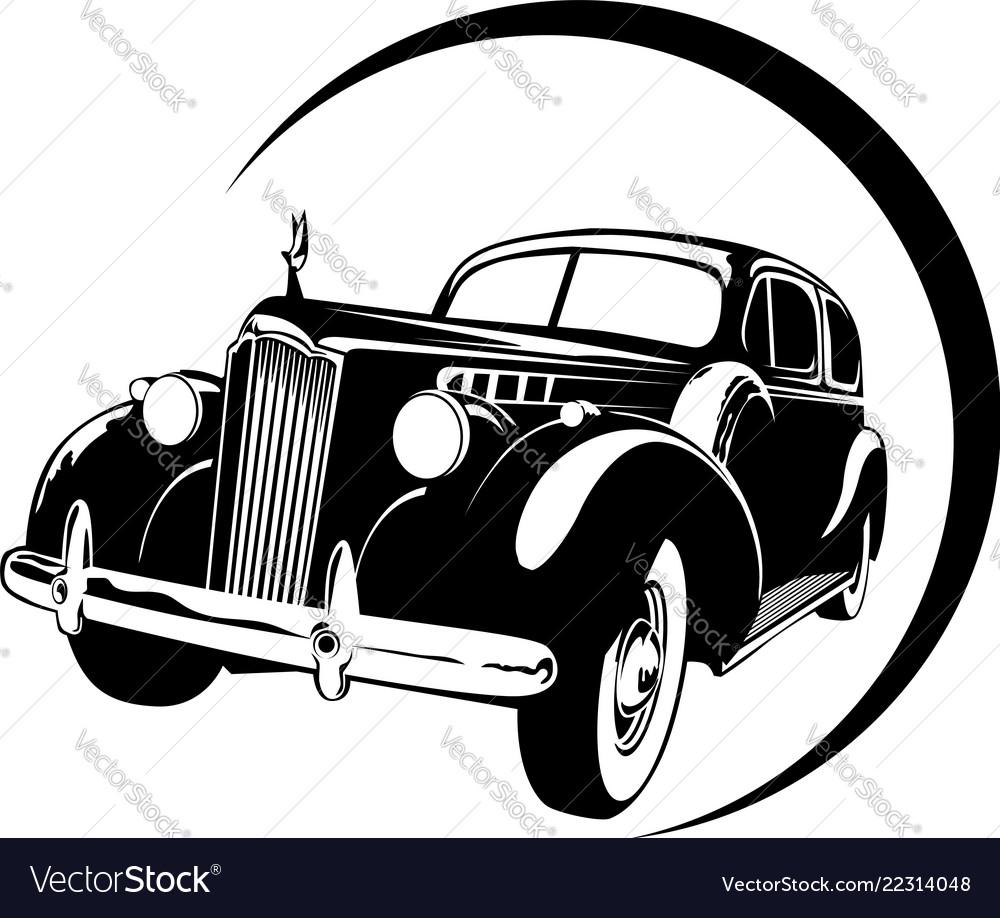 Vintage car high detail