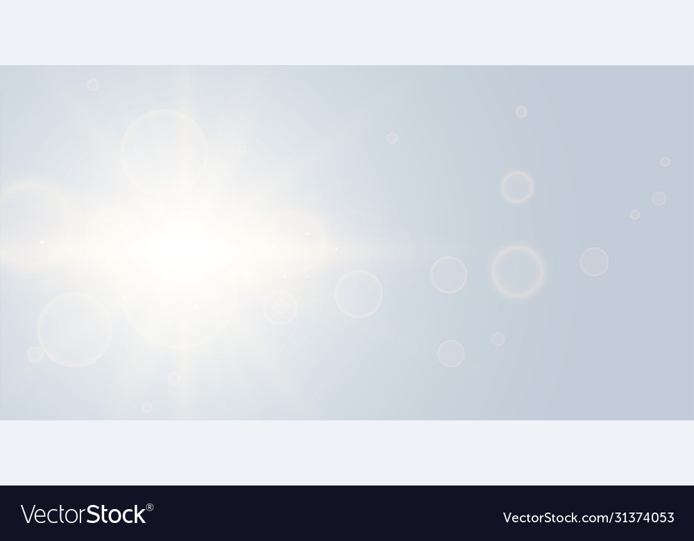 Elegant soft gray background with glowing light