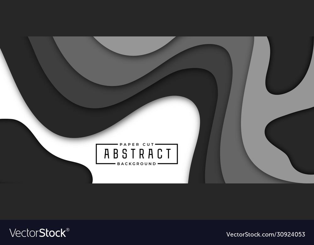Minimalistic horizontal banner background