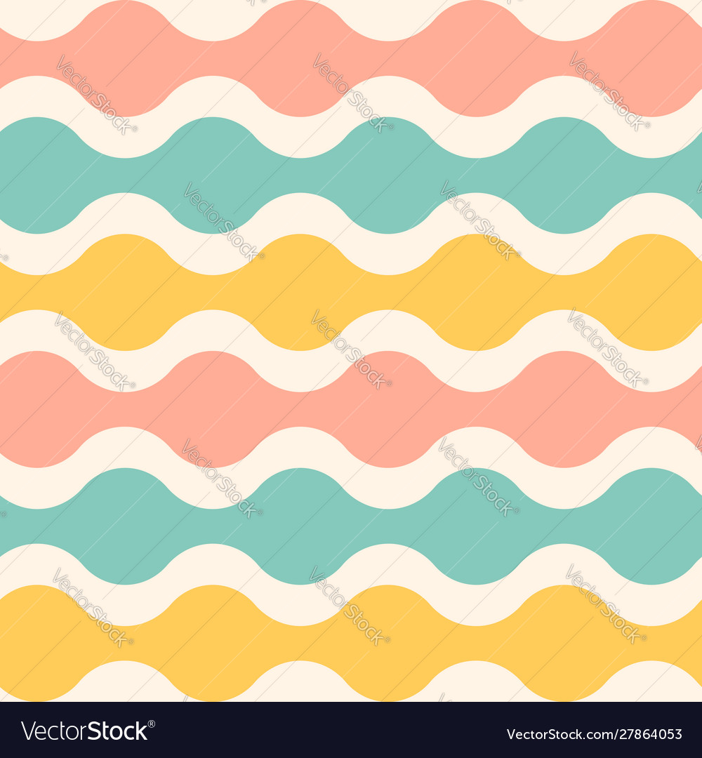 Pattern with wave