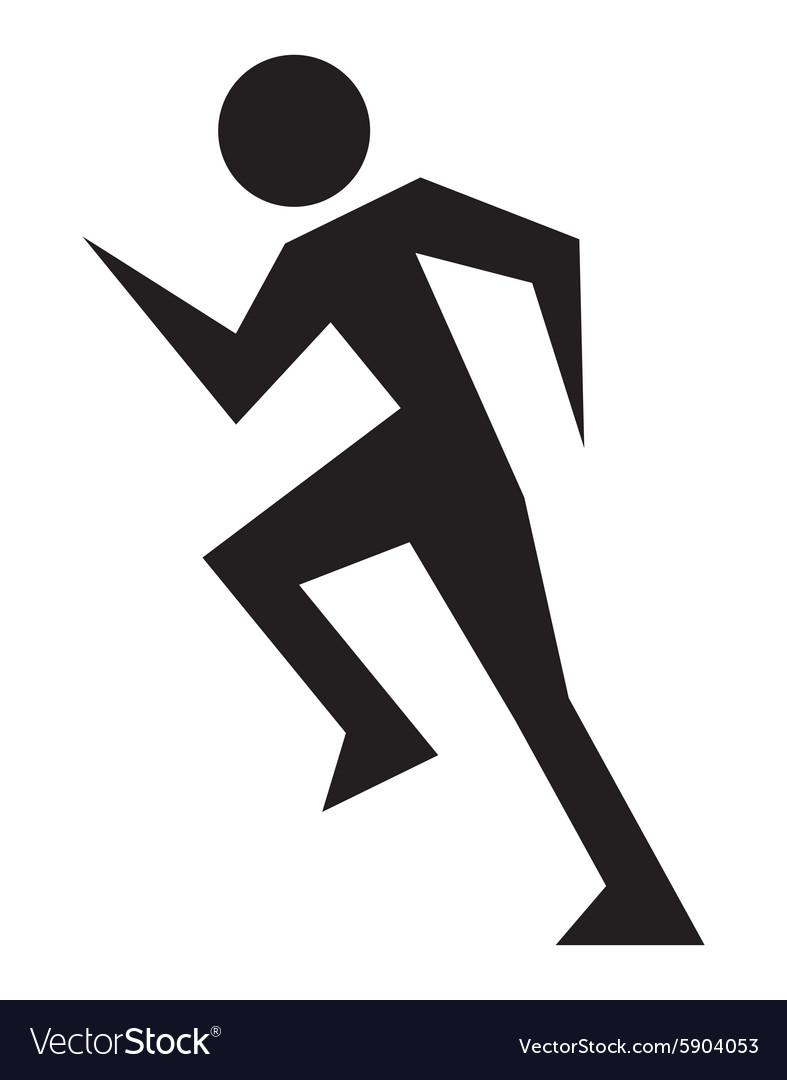 Running man2 vector image