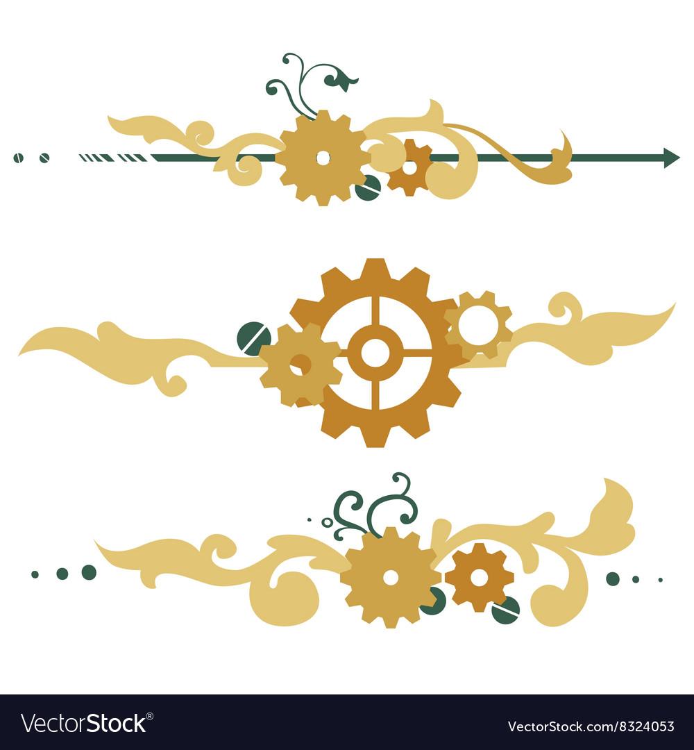 Victorian steampunk elements