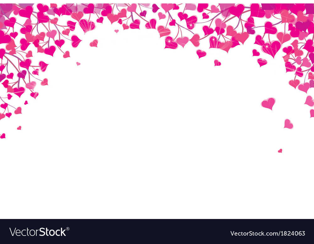 heart border royalty free vector image vectorstock rh vectorstock com heart border free heart borders and frames