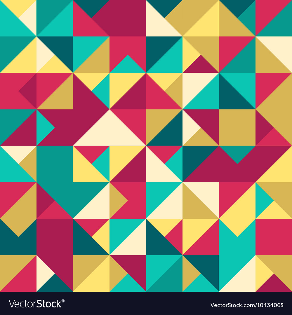 Abstract Geometric Seamless Pattern Modern texture