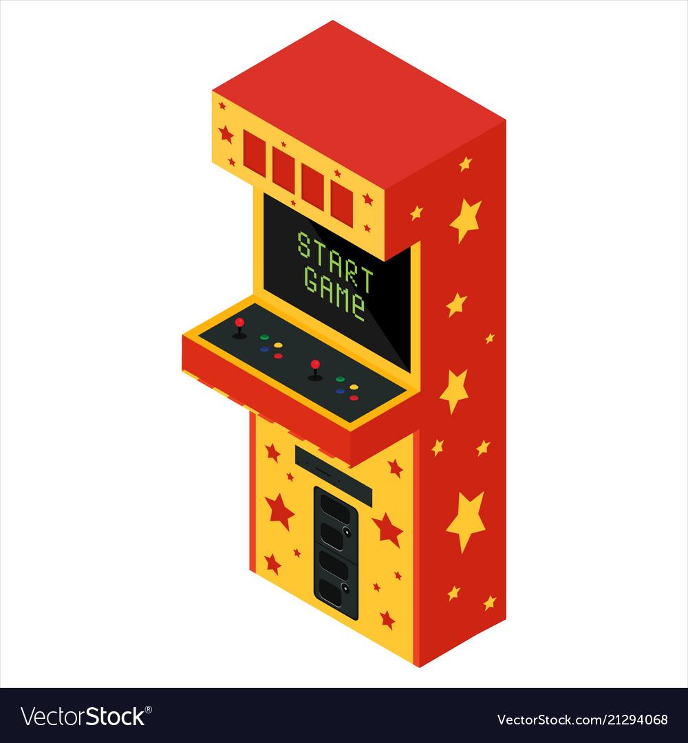 Isometric game machine
