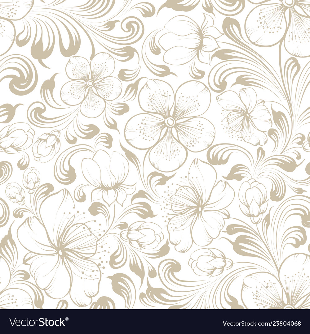 The marriage invitation seamless pattern