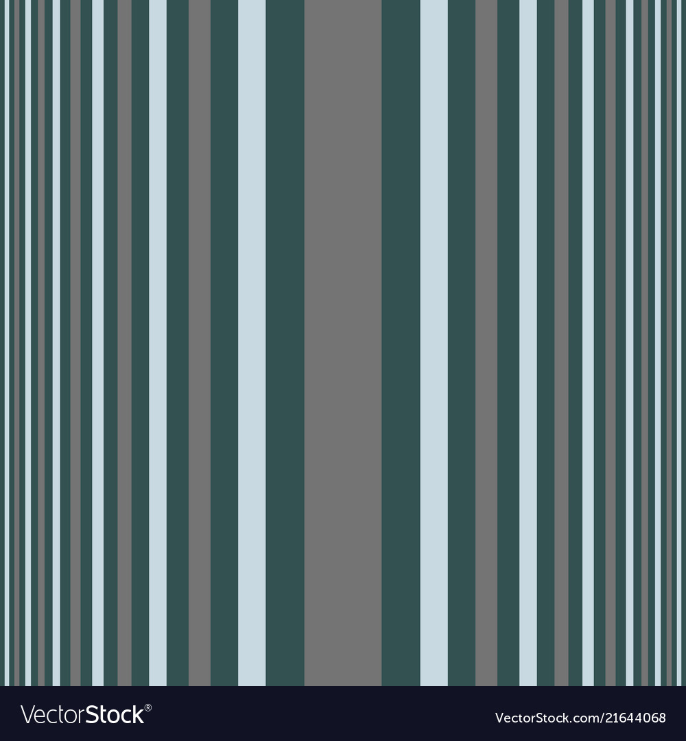 Vertical green gray shades stripes print