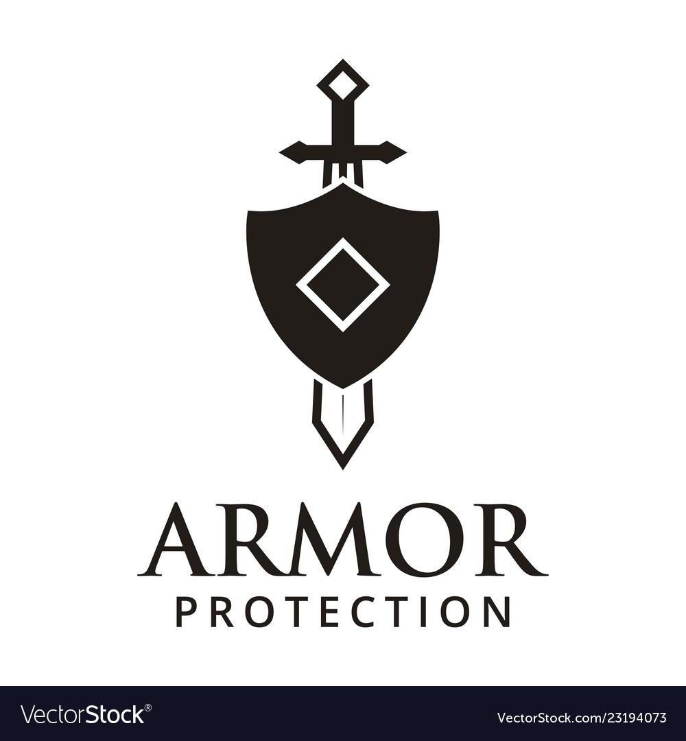 Armor protection logo design inspiration