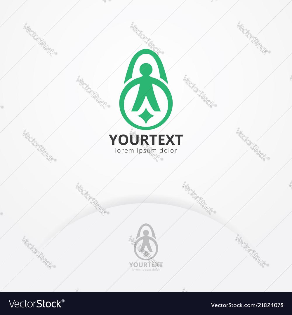 Fitness training logo