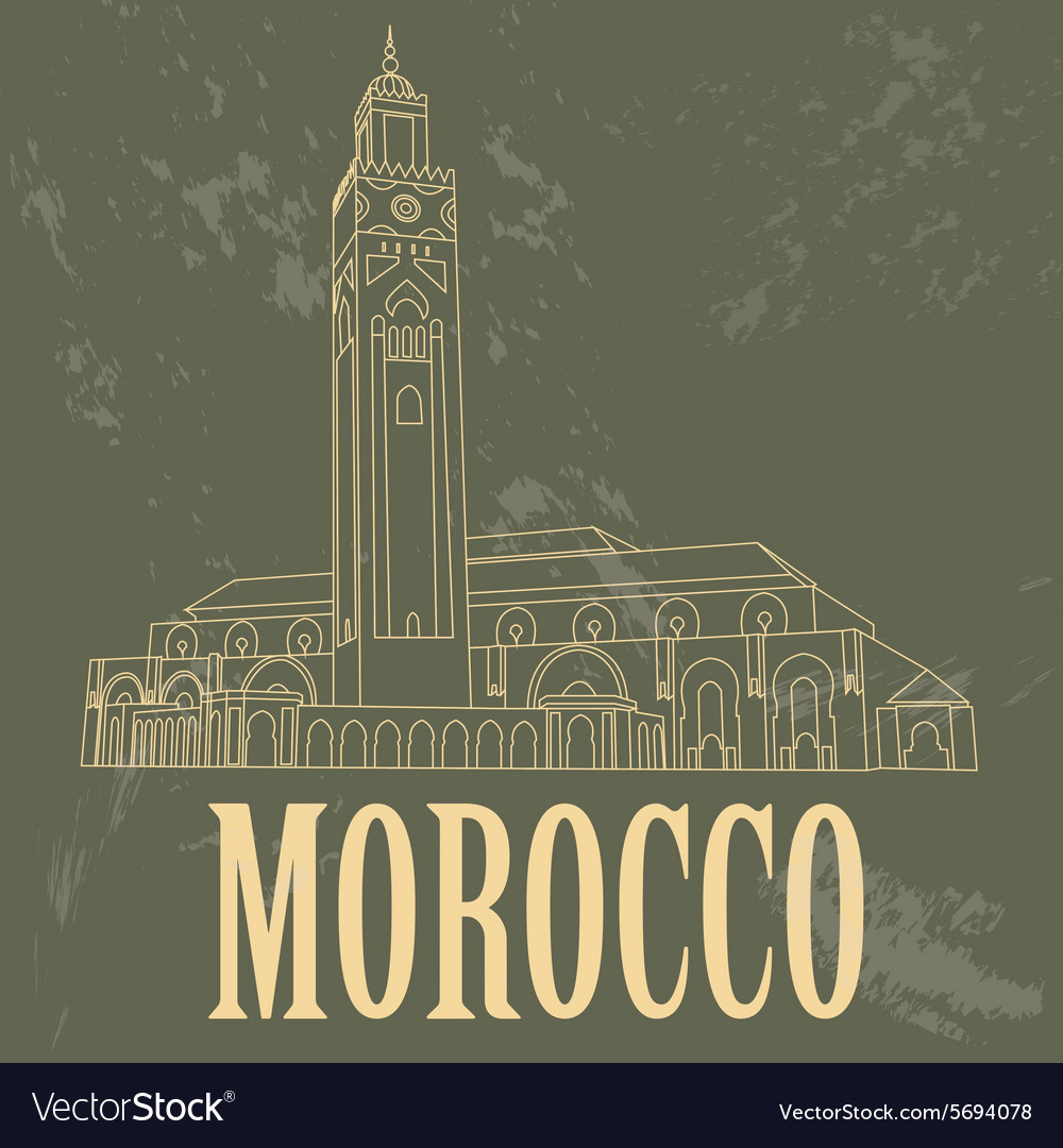 Kingdom of Morocco landmarks Hassan III Mosque in