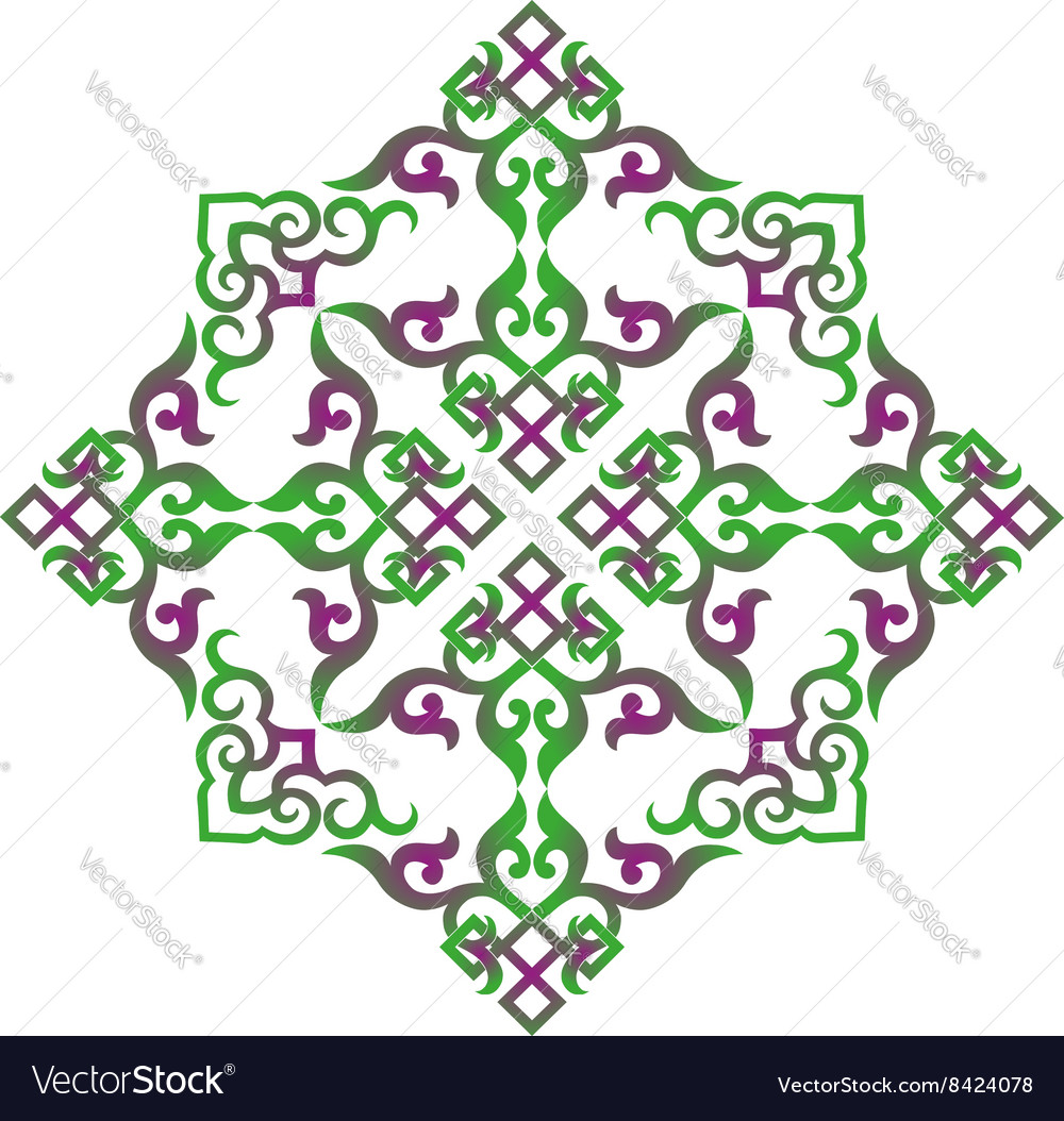 oriental chinese ornament royalty free vector image vectorstock