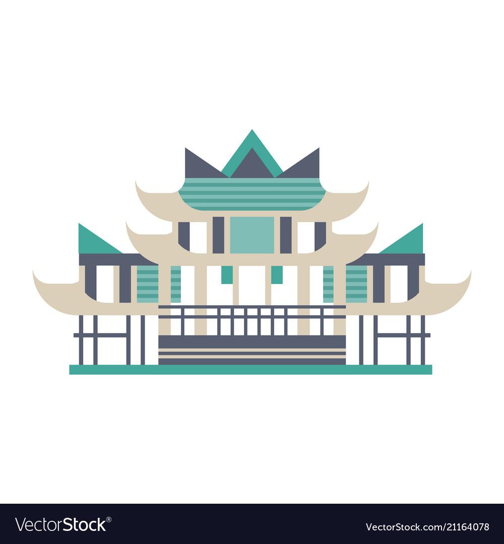 Pagoda asian traditional building