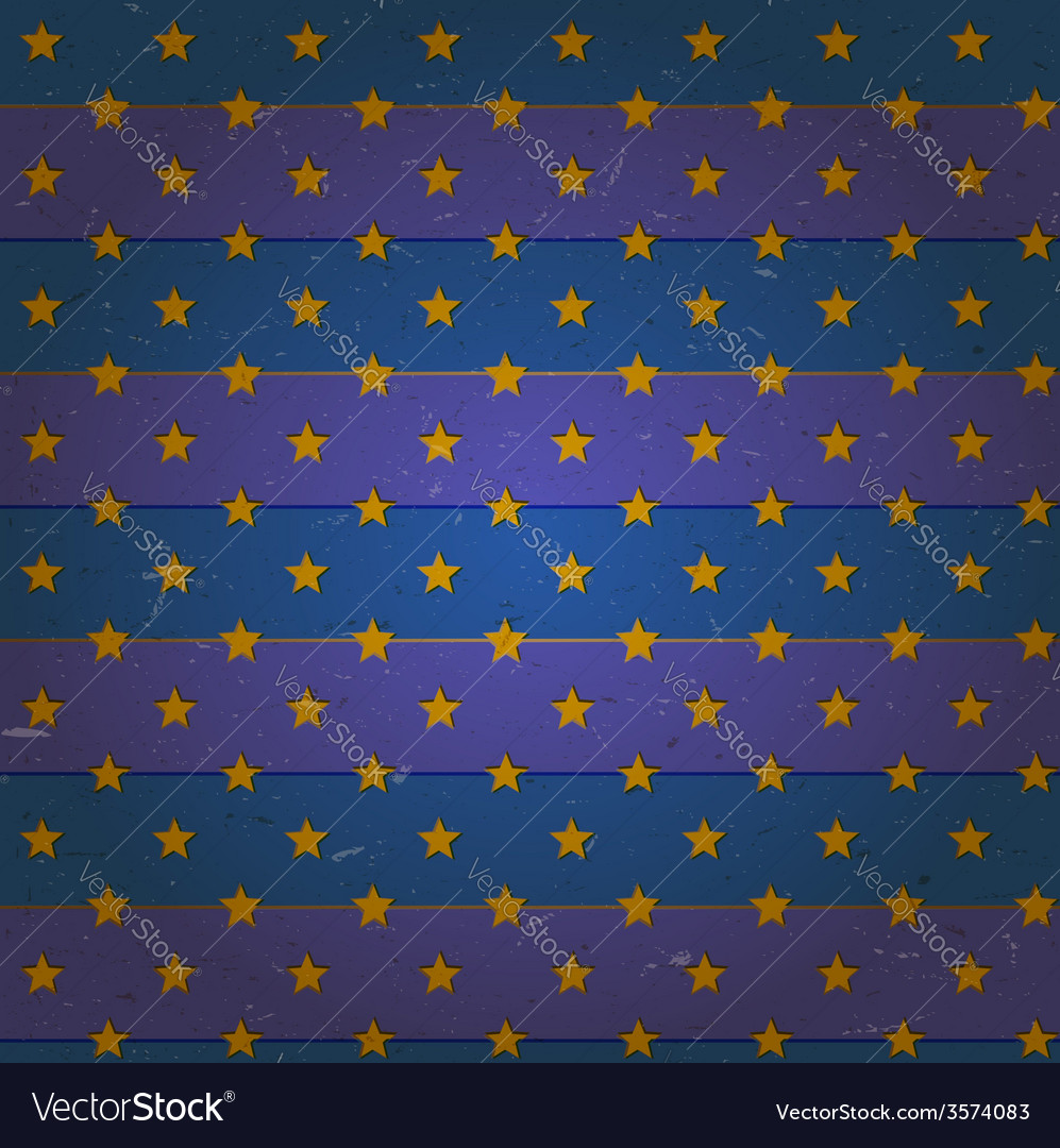Aged seamless pattern with stars
