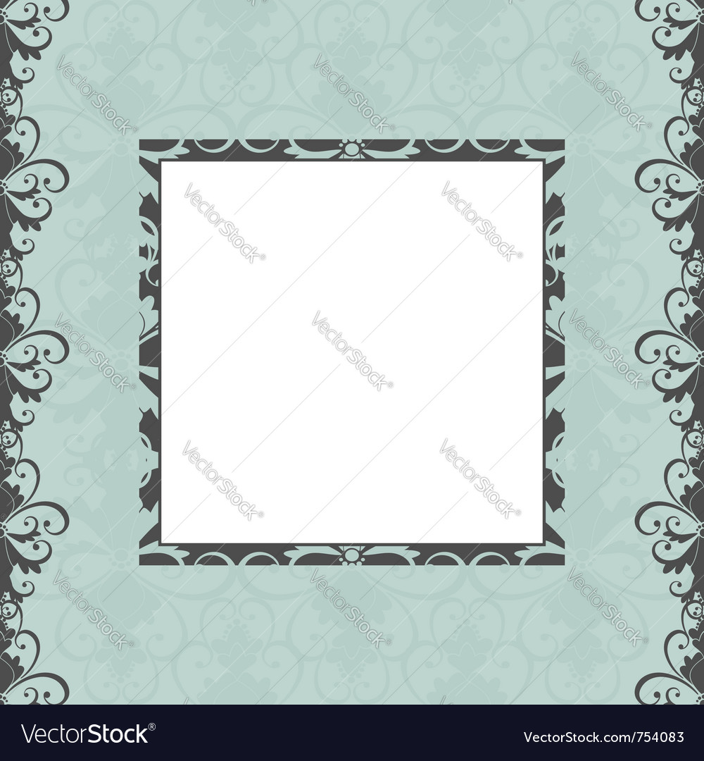 Greeting card template Royalty Free Vector Image