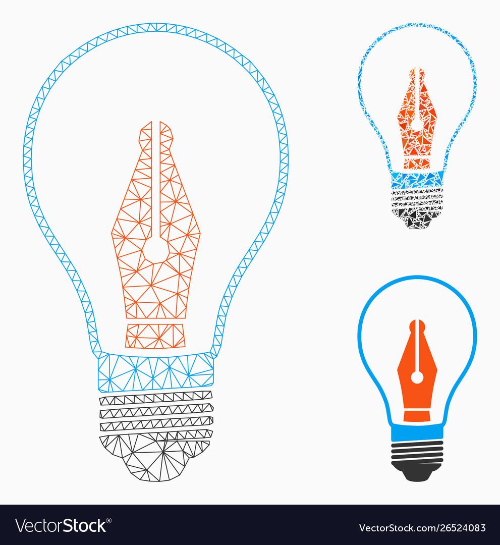 News maker bulb mesh network model and