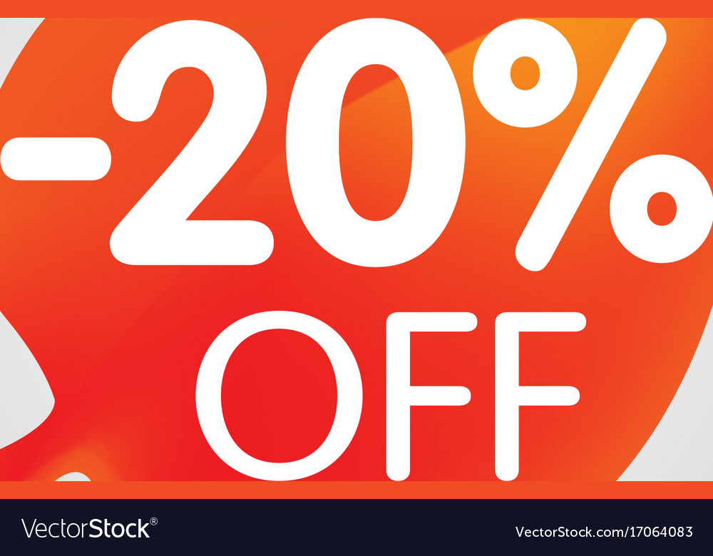 Special offer sale orange tag isolated