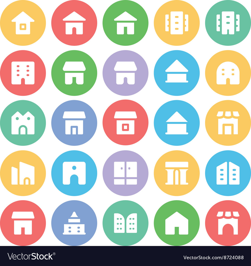 Building and Furniture Icons 10