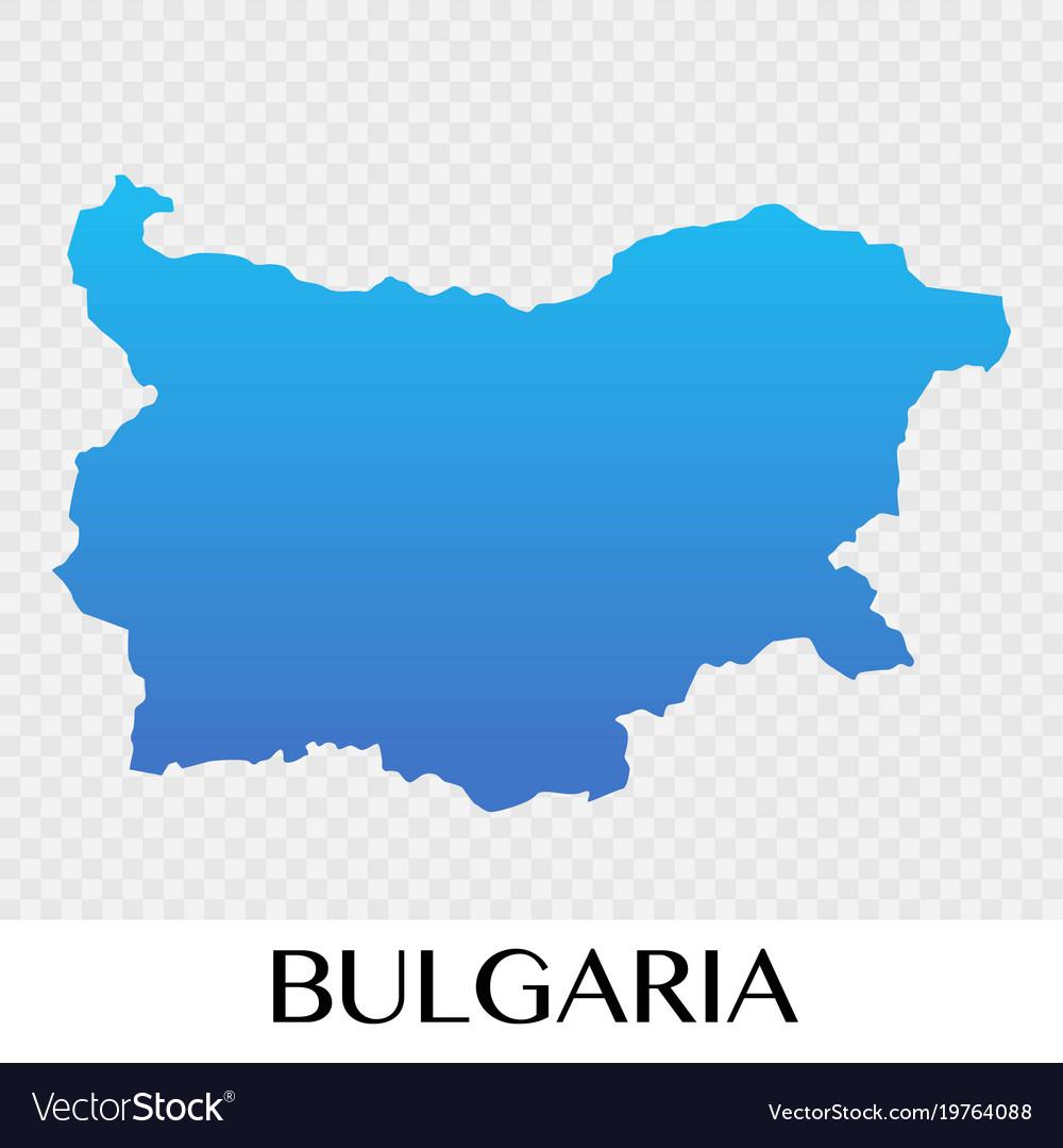 bulgaria map in europe Bulgaria Map In Europe Continent Design Royalty Free Vector bulgaria map in europe