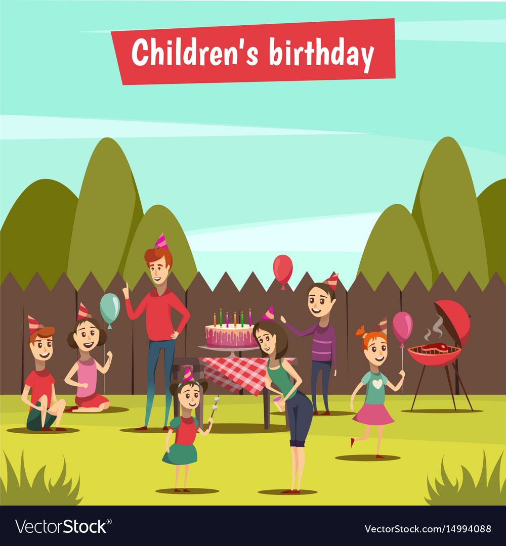 Childrens bithday party
