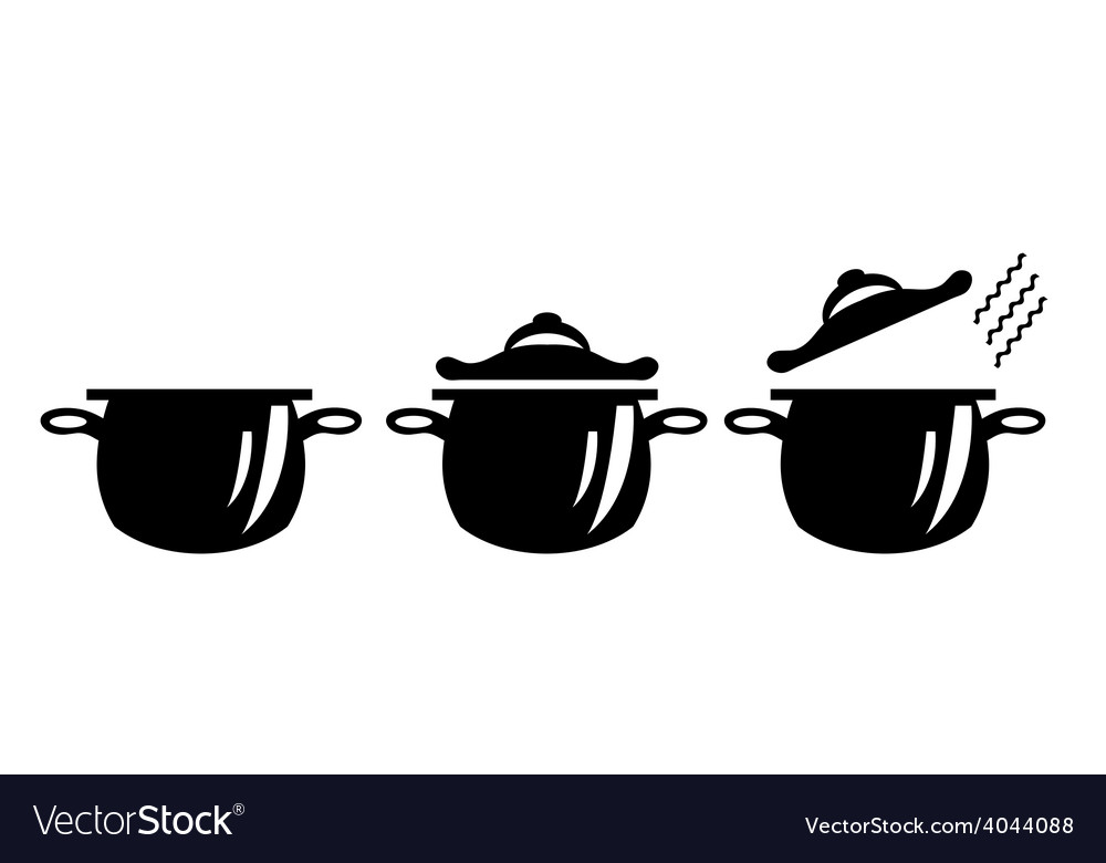Picture of three pots
