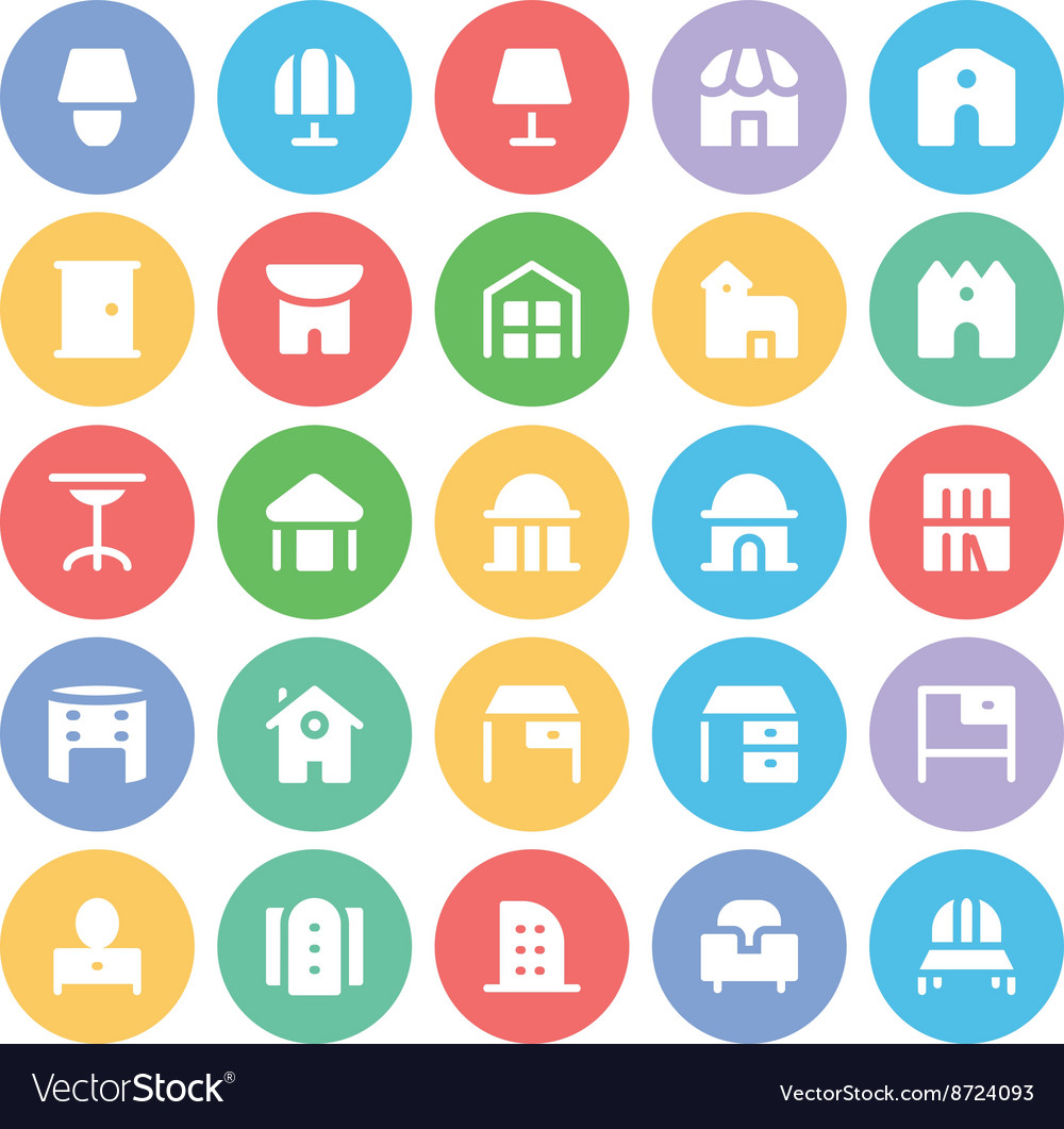 Building and Furniture Icons 13