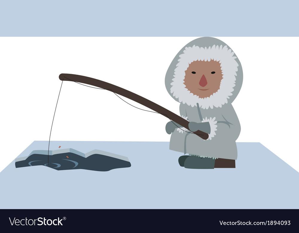 Eskimo fisher
