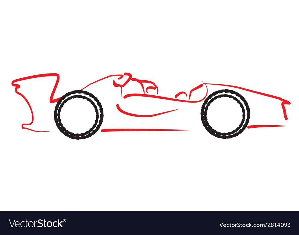 Formula 1 car logo
