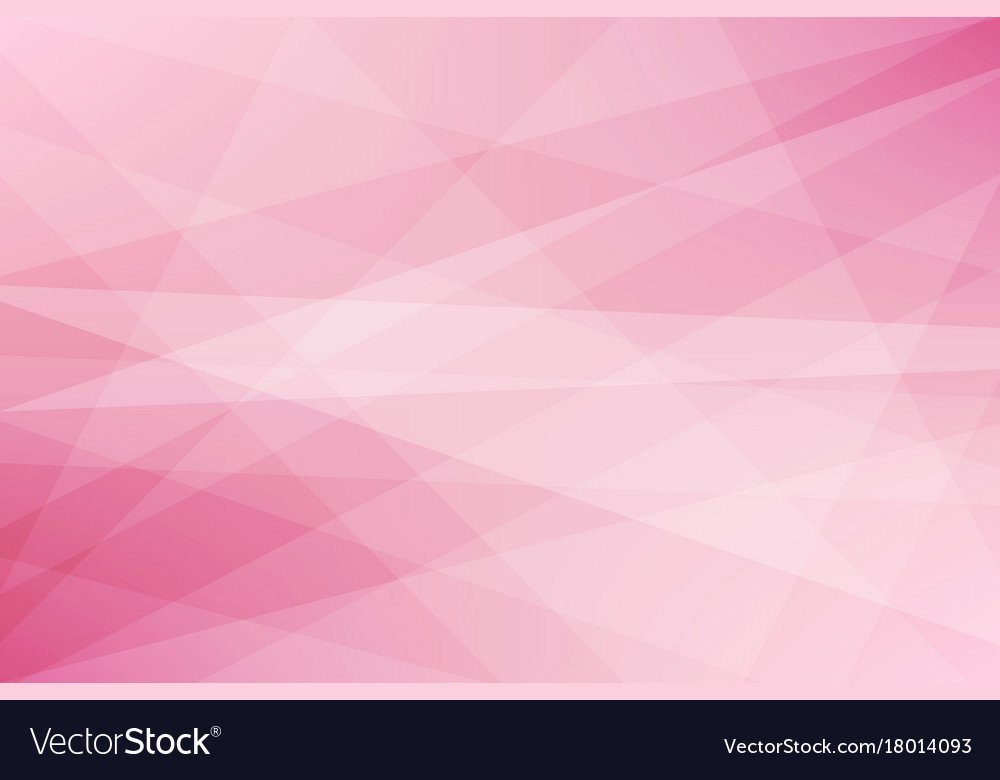Pink geometric abstract background
