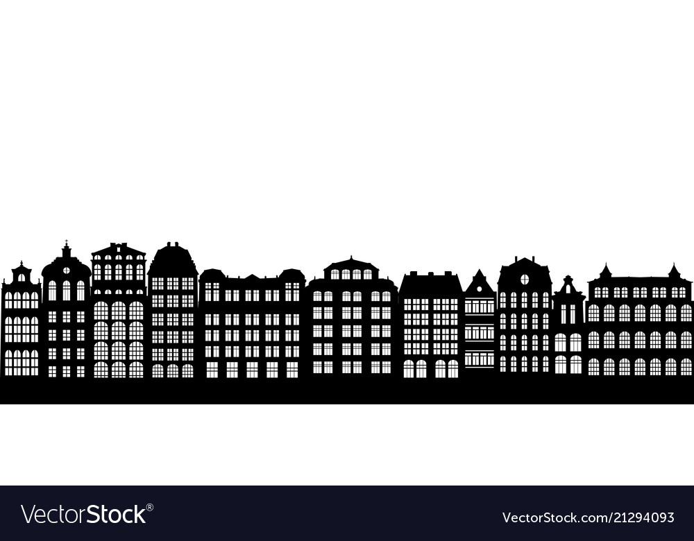 Silhouettes houses