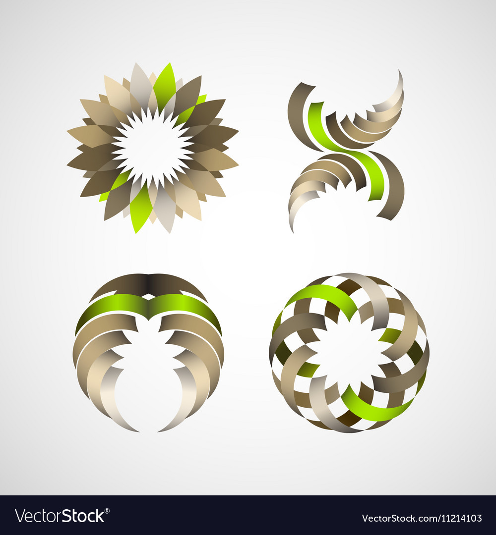 Business Design elements icon set for print and we