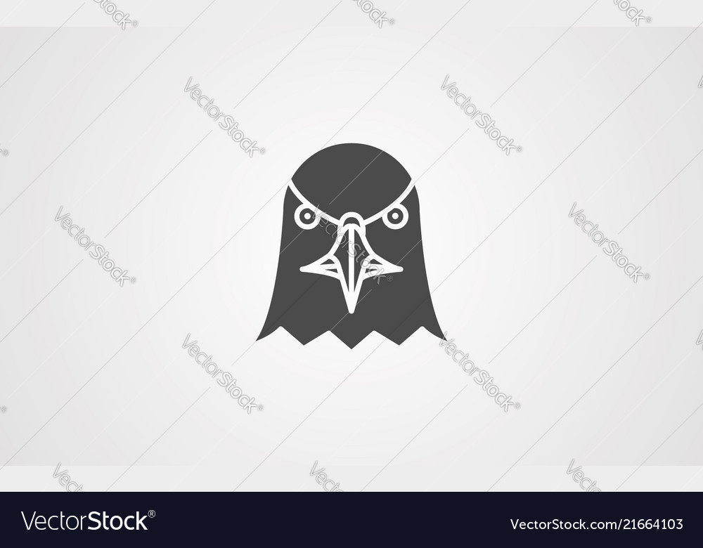 Eagle head icon sign symbol