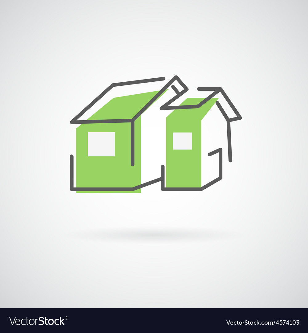 House design logo