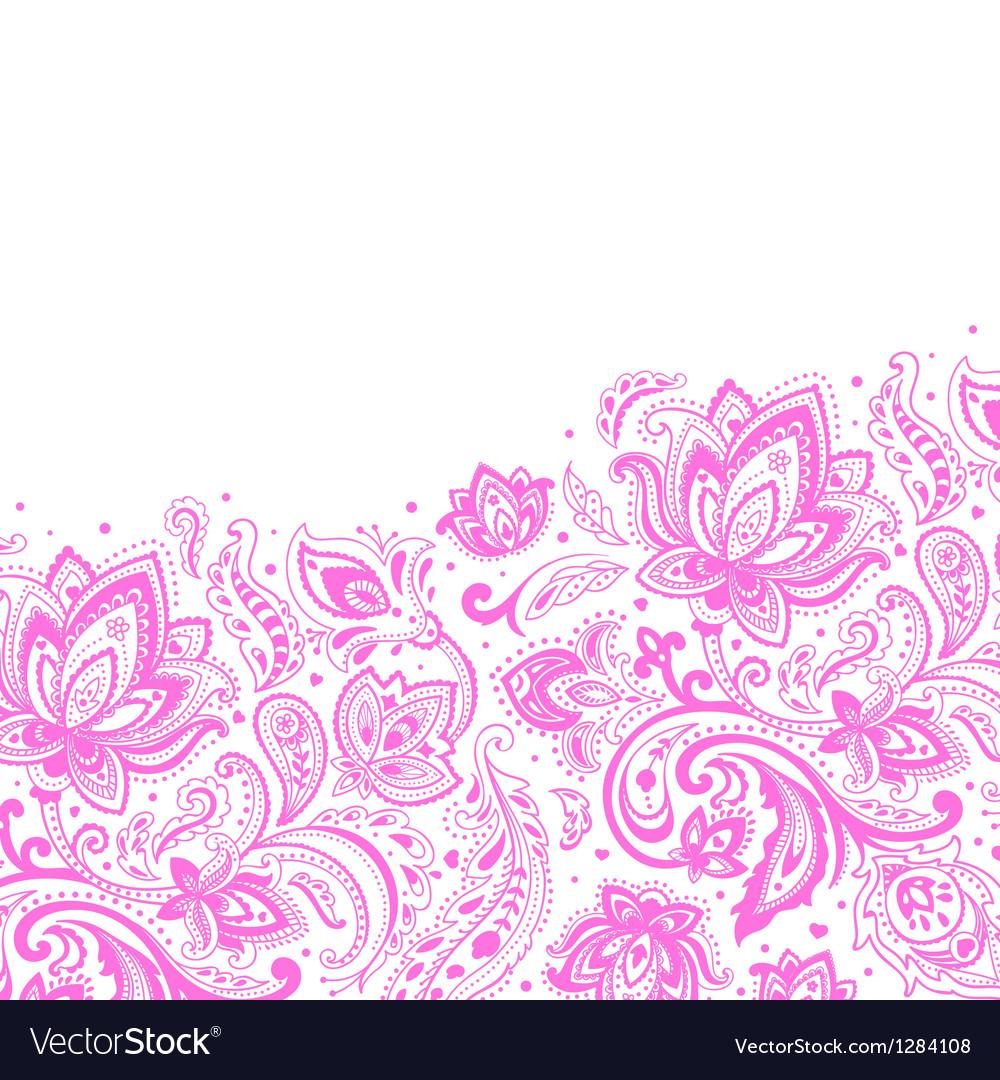 Beautiful paisley background