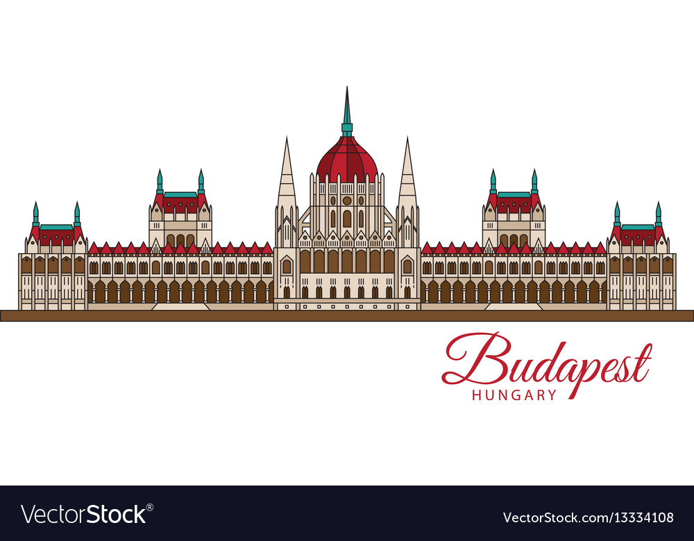 Hungarian parliament building symbol of