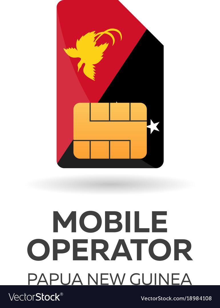 Papua new guinea mobile operator sim card with