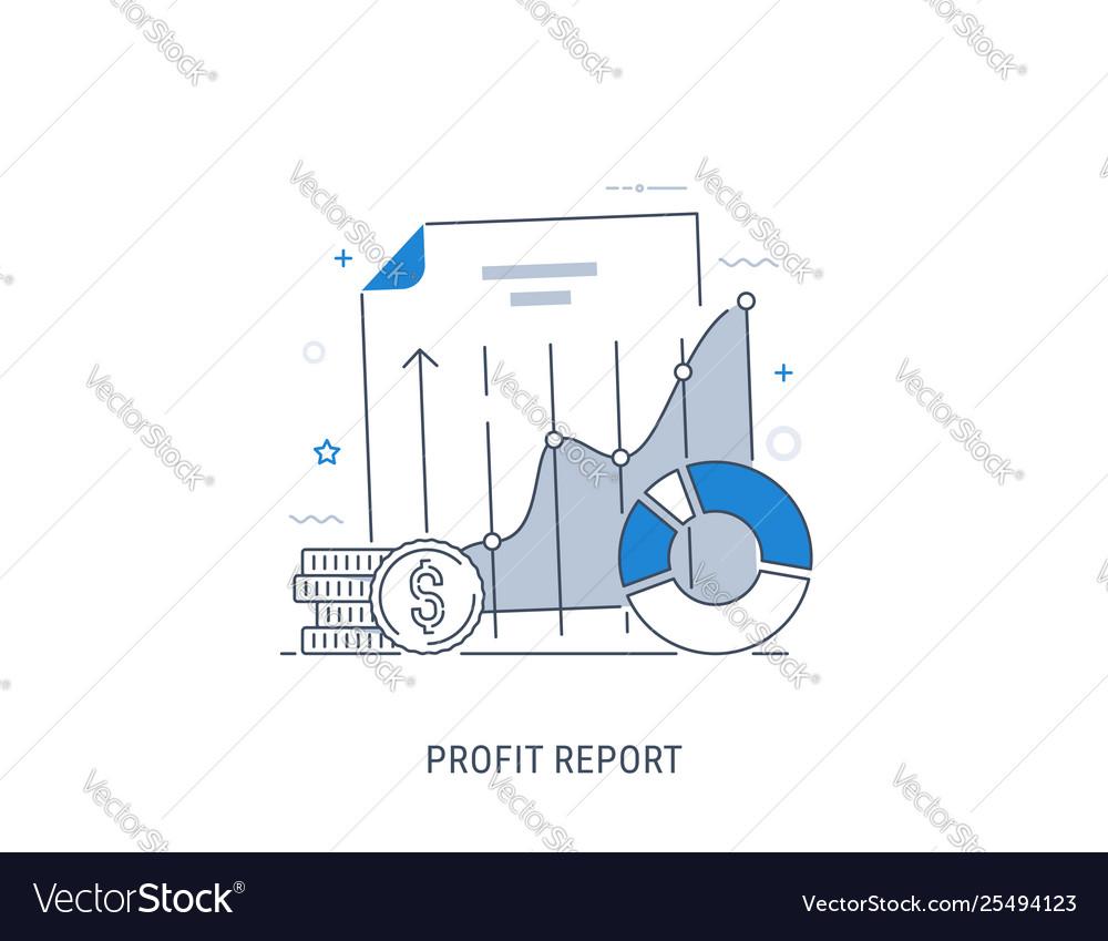 Data analytics and profit report
